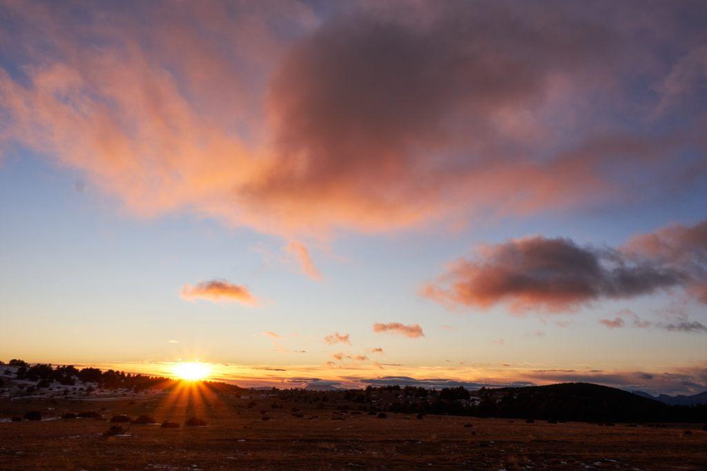 Posta sol prat major. ©Davidmsfoto
